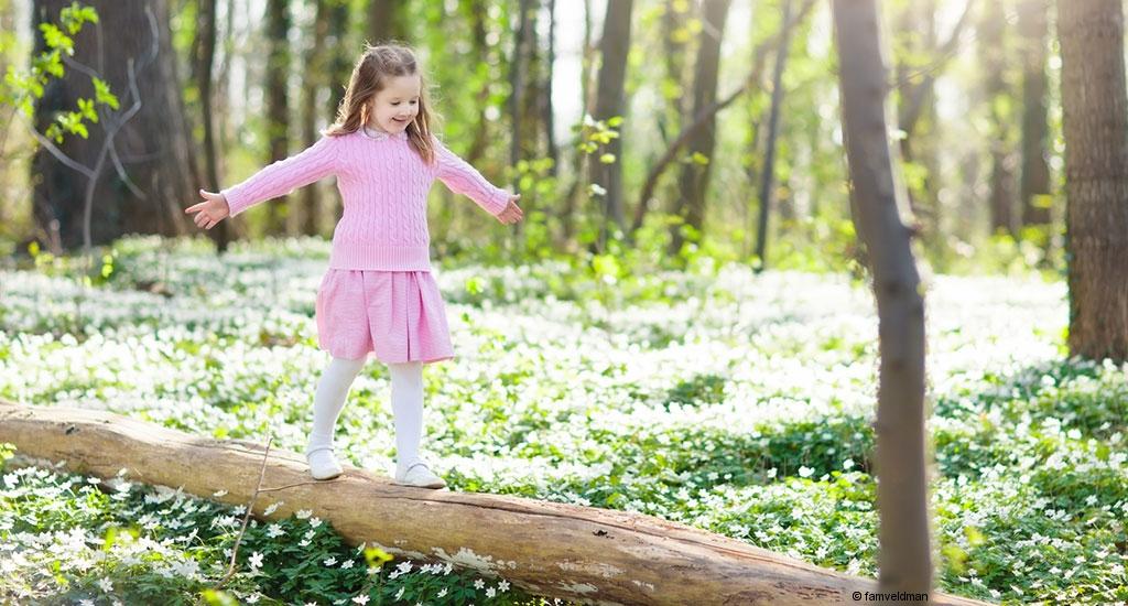 Outdoor-Aktivitäten im Frühling