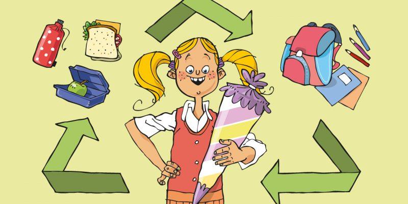 Bunt und umweltbewusst ins neue Schuljahr starten