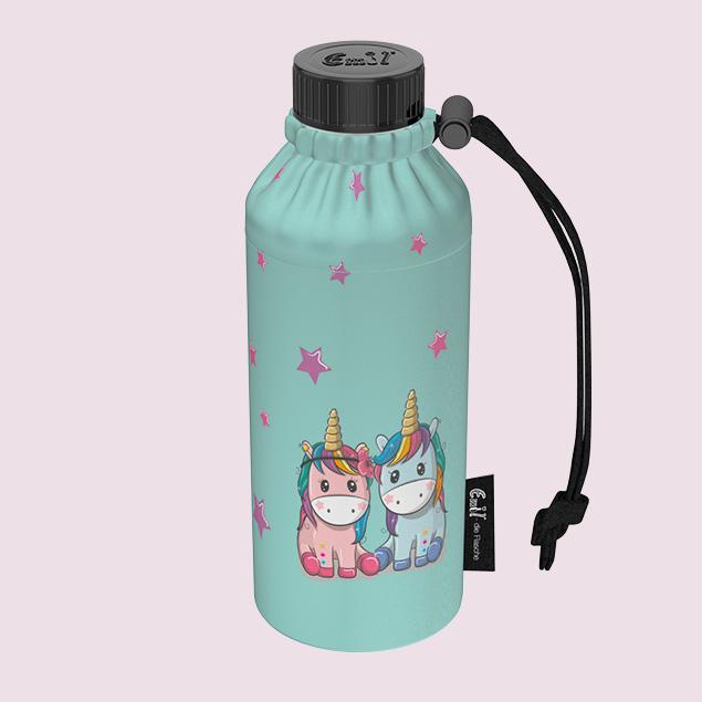 Unicorns Weithals-Flasche