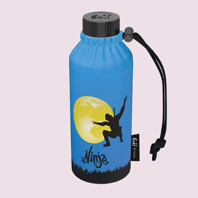 Ninjas Weithals-Flasche