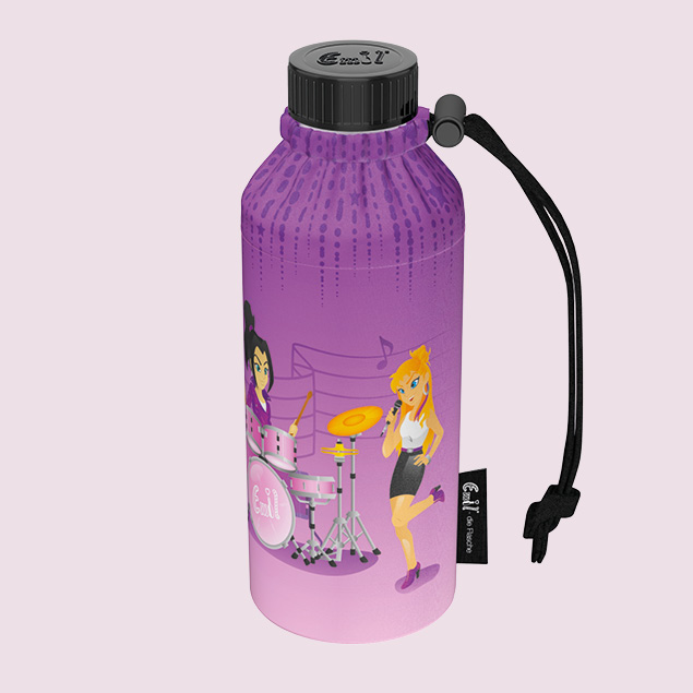 Popstars Weithals-Flasche