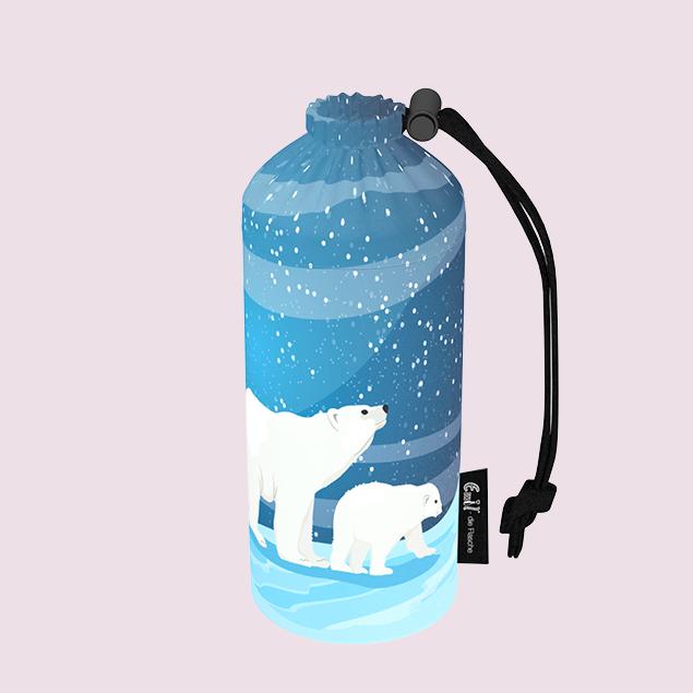 Flaschenbeutel - Polar 0,4l