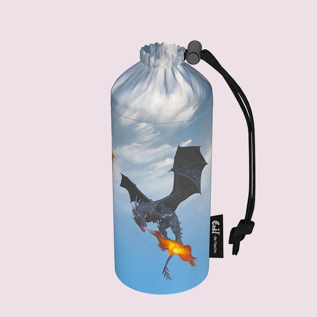 Flaschenbeutel  - Drachen
