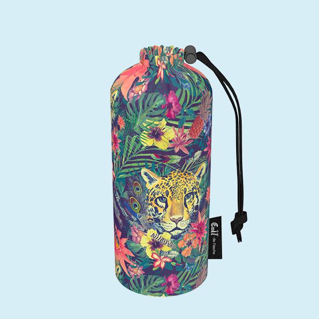 Flaschenbeutel  - Leopard