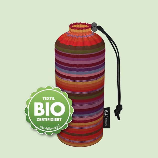 Flaschenbeutel - BIO-Streifen 0,3l
