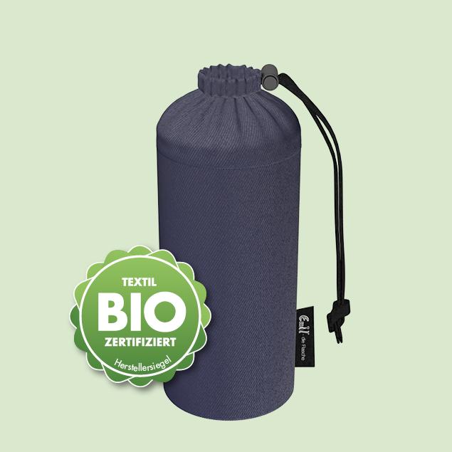 Flaschenbeutel - BIO-Jeans 0,6l
