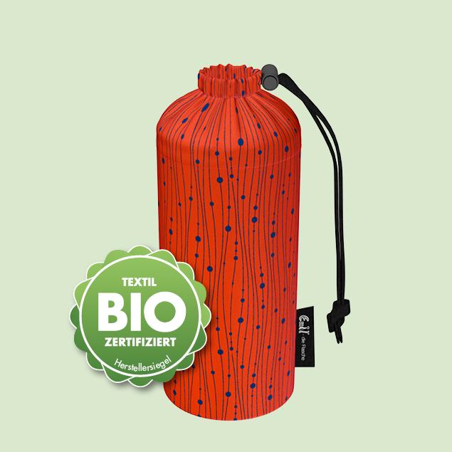 Flaschenbeutel - BIO-Koralle
