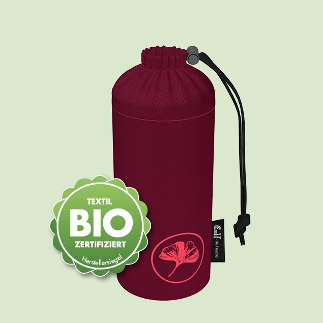 Flaschenbeutel - BIO-Ginkgo 0,75l Weithals