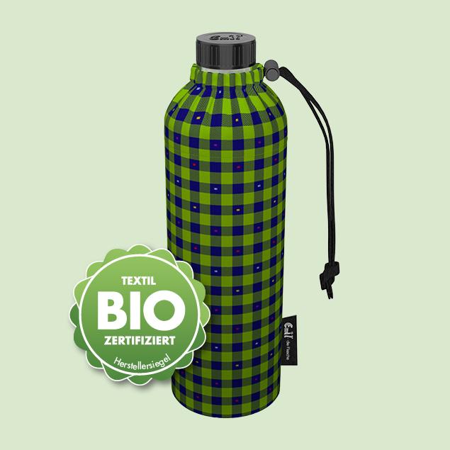 BIO-Karo Weithals-Flasche 0,75l Weithals
