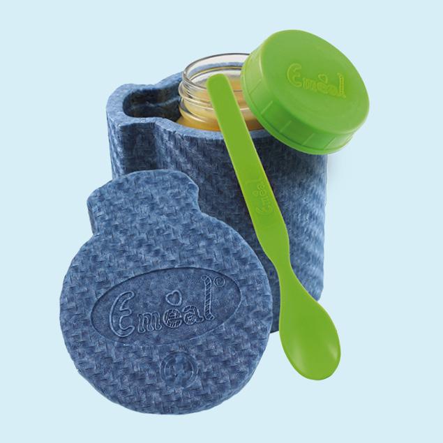 Emeal© - Thermo-Essglas für Babys Thermo-Essglas