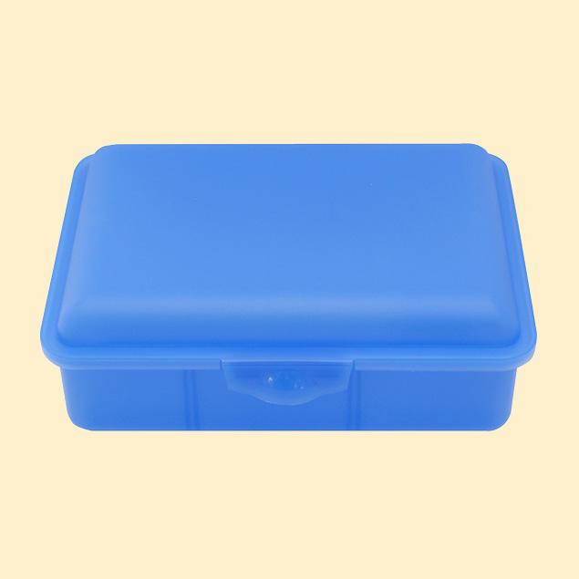 Brotbox 2 Trennstege - Blau