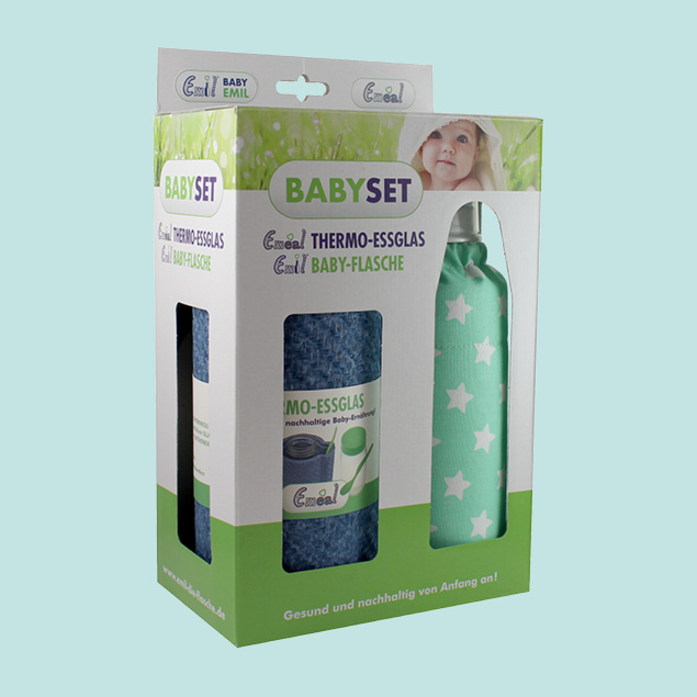 Baby Set - BIO-Sterne Mint
