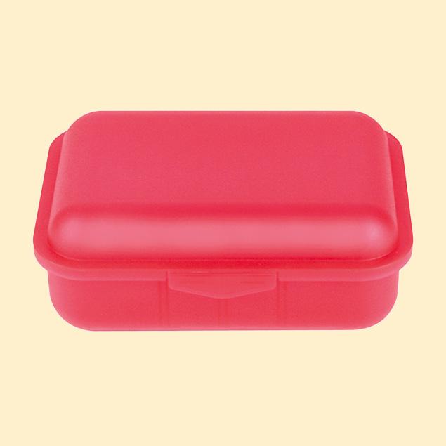 Brotbox m. 1 Tst rot