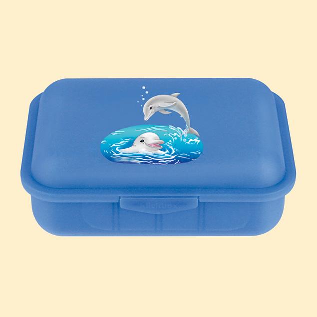 Brotbox m. 1 Tst Delfine